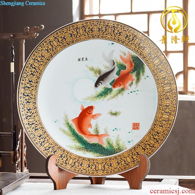 Jingdezhen Ceramics High White Porcelain Of Famille Rose