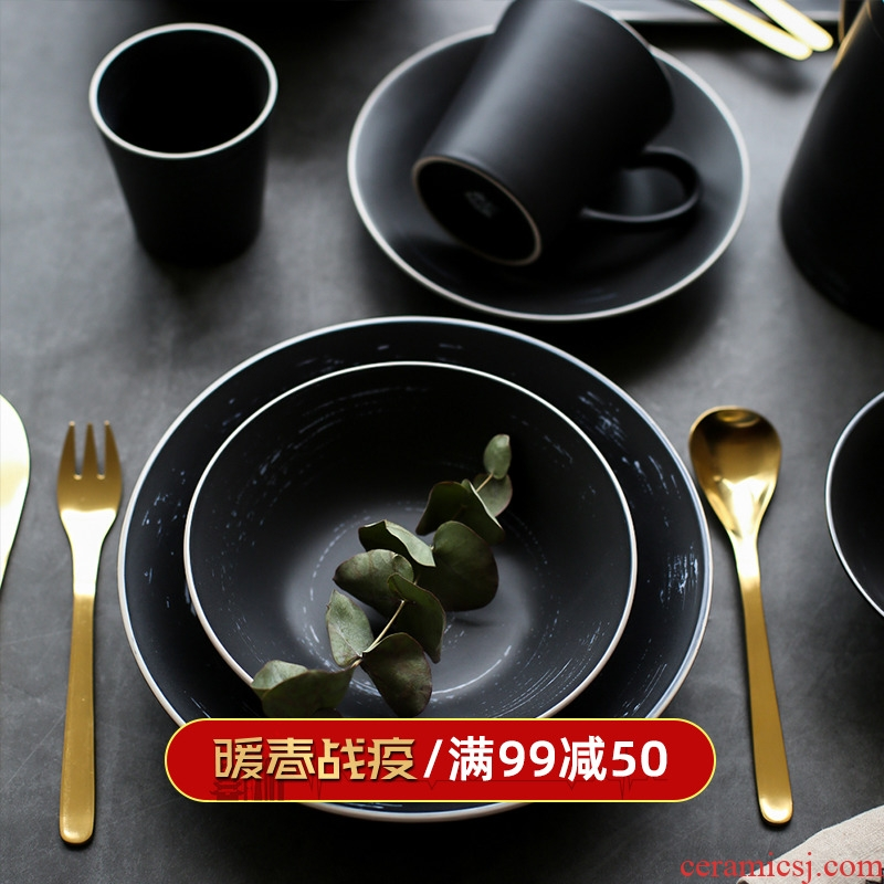 Sichuan and restoring ancient ways in Japanese ceramics tableware bowl of rectangle plate sushi plate plates breakfast tray cake plate originality