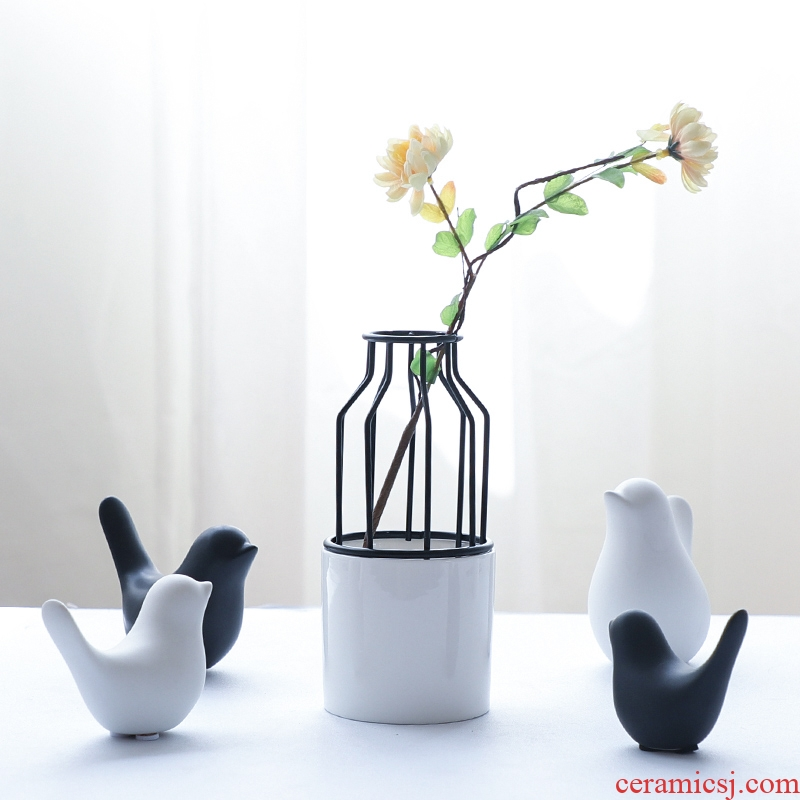 Nan sheng I and contracted household act the role ofing is tasted European ceramic furnishing articles bird decorations arts and crafts gift animals living room