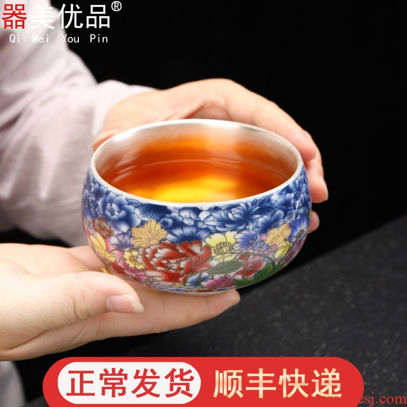 Is the best tea colored enamel coppering. As silver tea set 999 single CPU for wash small tea accessories exquisite ceramic writing brush washer