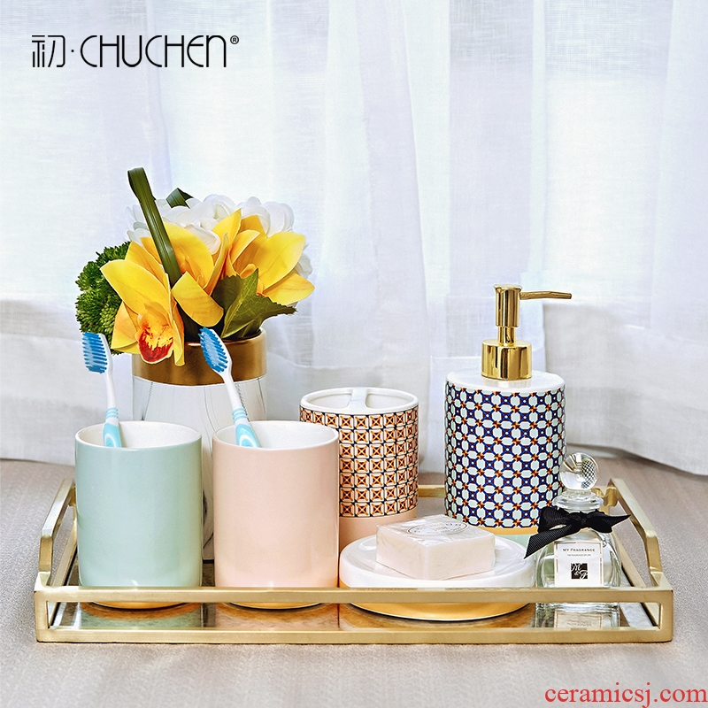 Five suit I and contracted practical creative household ceramics sanitary ware toilet supplies wedding present for girlfriends
