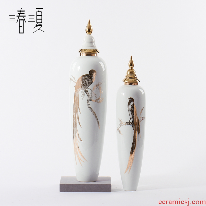 New Chinese style ceramic furnishing articles general pot large modern light see colour and porcelain decoration key-2 luxury hotel porch place