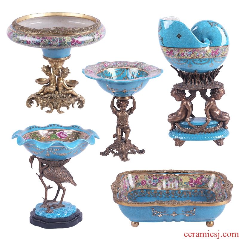 European American ceramic export orphan works rule foreign trade with high - grade copper sitting room porch household act the role ofing is tasted soft furnishing articles