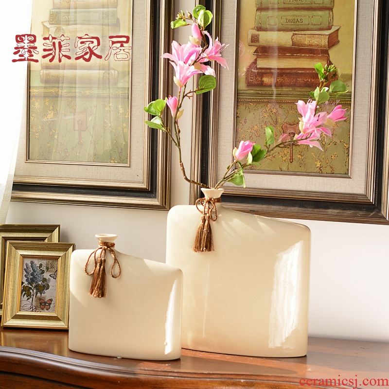 New Chinese style creative ceramic vase of furnishing articles zen sitting room adornment ark, TV ark, home decoration soft adornment