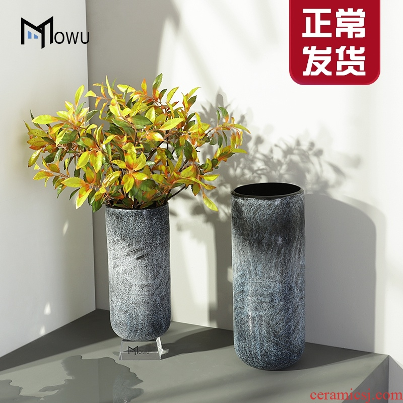 The house wormwood lacus somniorum creative ceramic vase northern wind to decorate The living room table dry flower arranging flowers floral suit furnishing articles