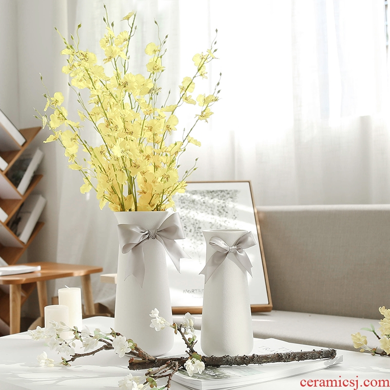 Nan sheng mesa of I and contracted household act the role ofing is tasted furnishing articles simulation flowers, dried flowers, ceramic vases, Nordic decorations