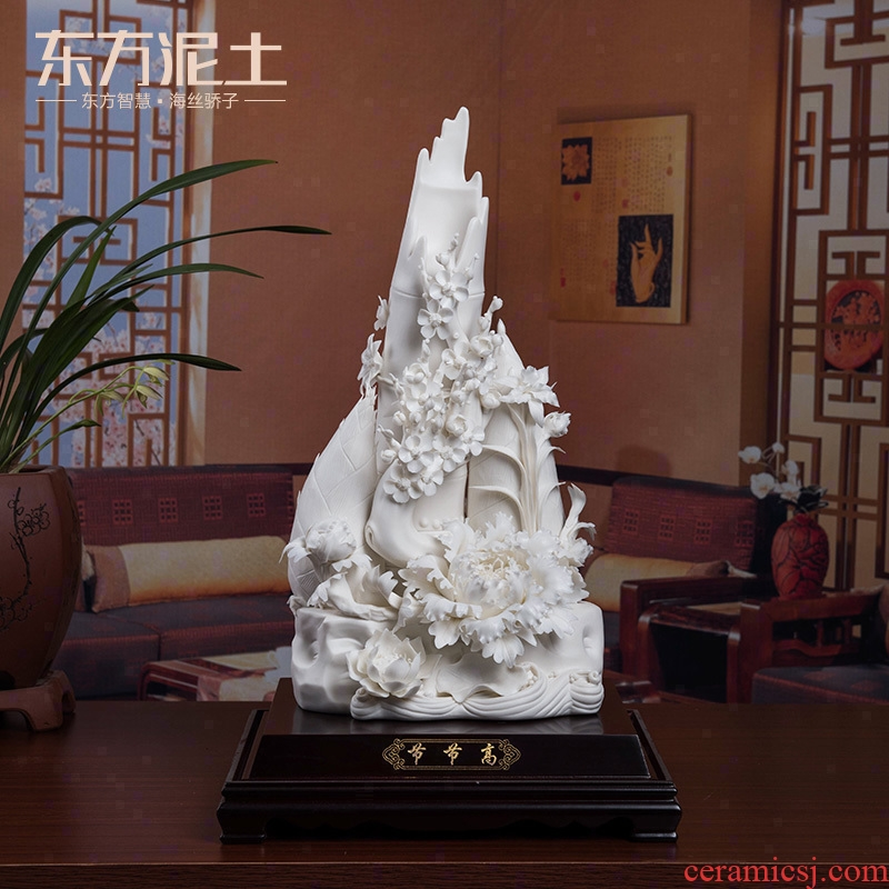 The east mud dehua porcelain its art furnishing articles sitting room adornment crafts/high D19-44