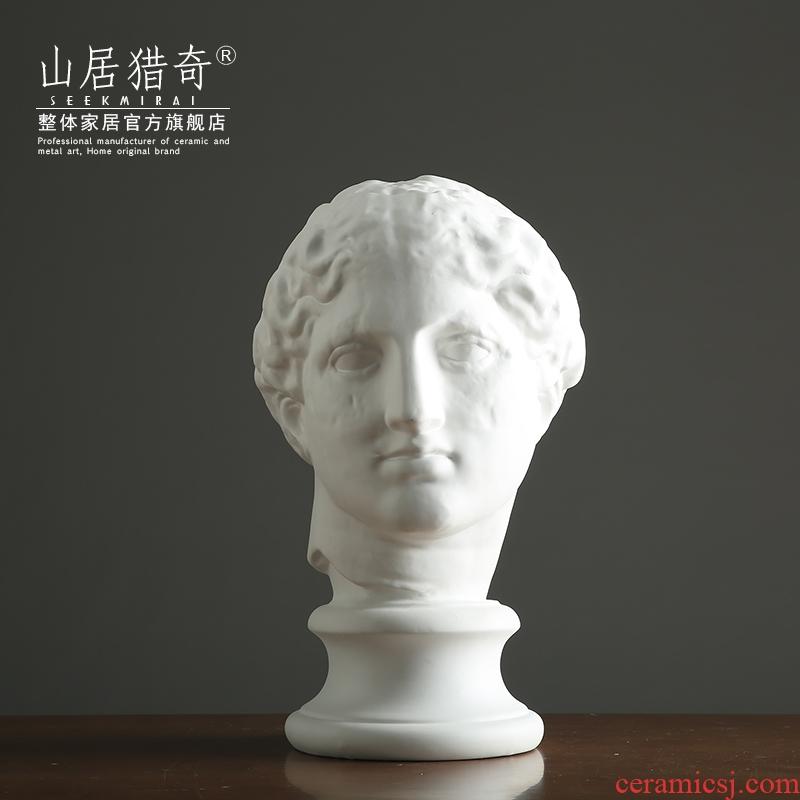 Creative porcelain statute of Venus DE milo furnishing articles Nordic household model room character its art designer