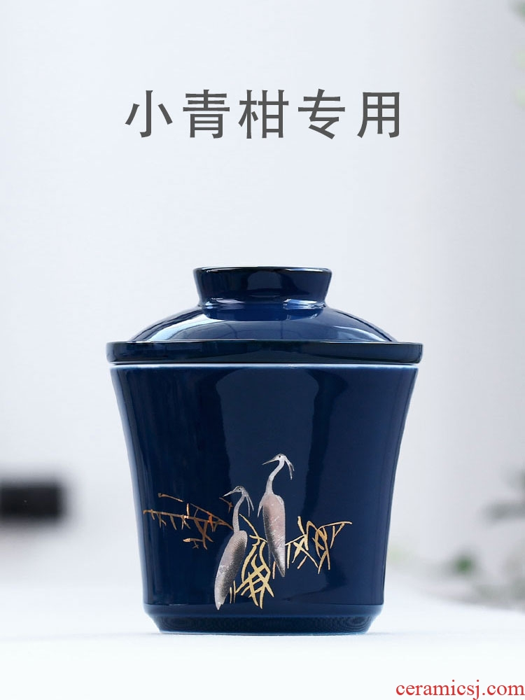 Egrets who spinosa puer tea special tea cup cup office household ceramics with filtering cup tea separation