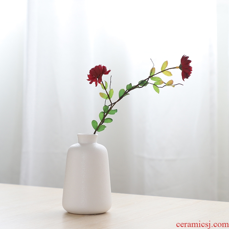 South simulation flowers, dried flowers sheng I and contracted household act the role ofing is tasted ceramic vase hydroponic ins wind flowers, flower arranging furnishing articles
