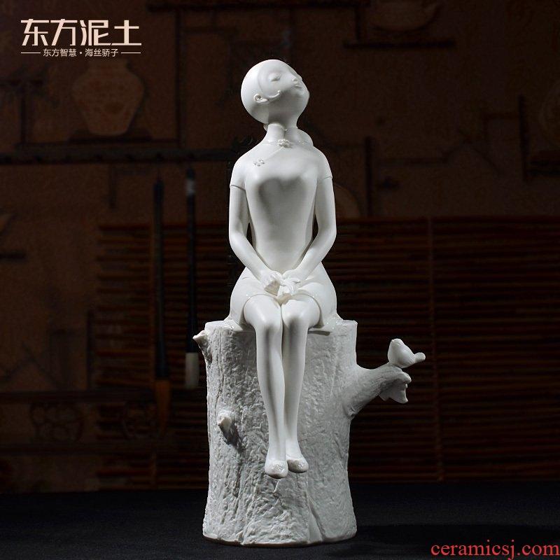 Oriental soil home furnishing articles ornaments creativity move character its art ceramics handicraft sitting room/follow the scent