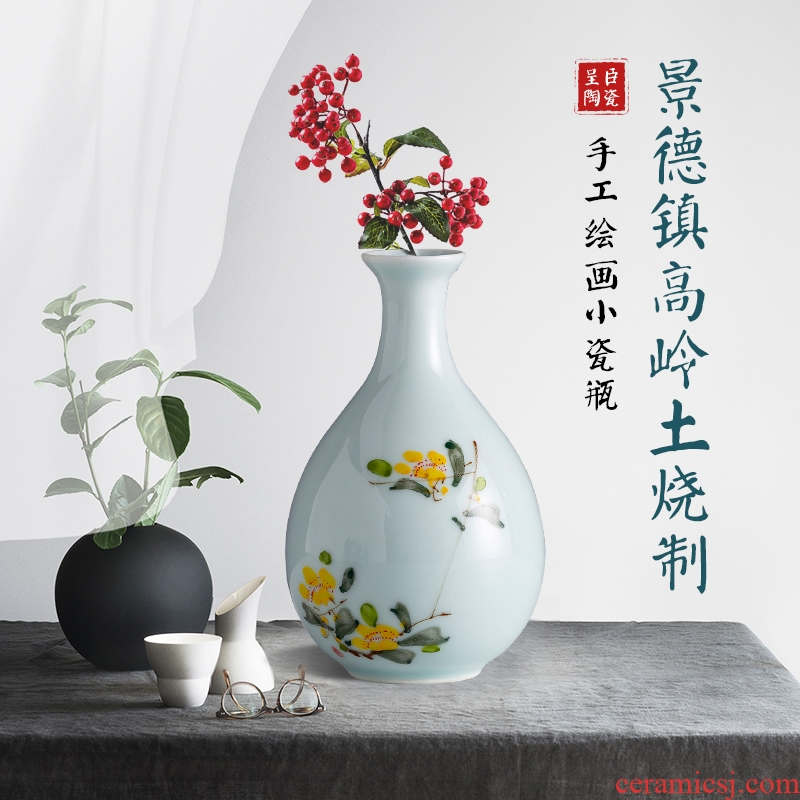Jingdezhen creative new Chinese style ceramic floret bottle POTS desk study of the sitting room TV ark, the table flower arranging furnishing articles