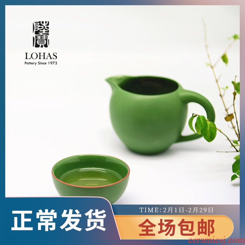Handless small points the Taiwanese lupao ceramic tea set just a cup of tea cup ceramic cups of tea a cup of tea