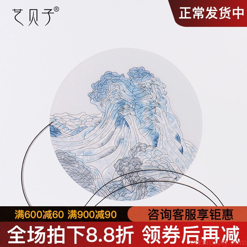 Art BeiZi boreal Europe style carving craft soft adornment inside the glass plate furnishing articles featured soft outfit example room decoration