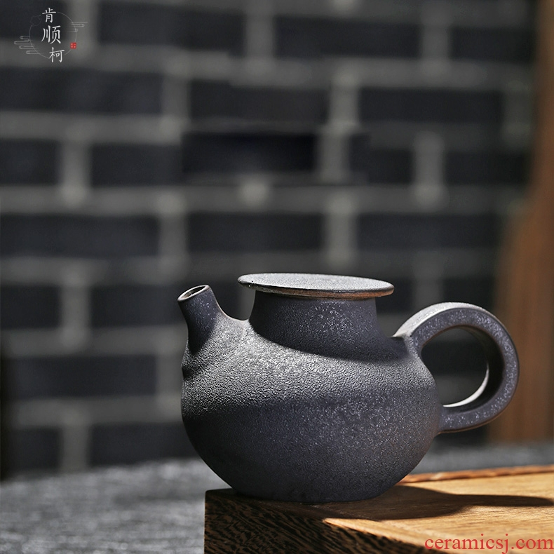 Jingdezhen your up coarse pottery little teapot single pot teapot with kung fu tea hand grasp pot cordless kettle