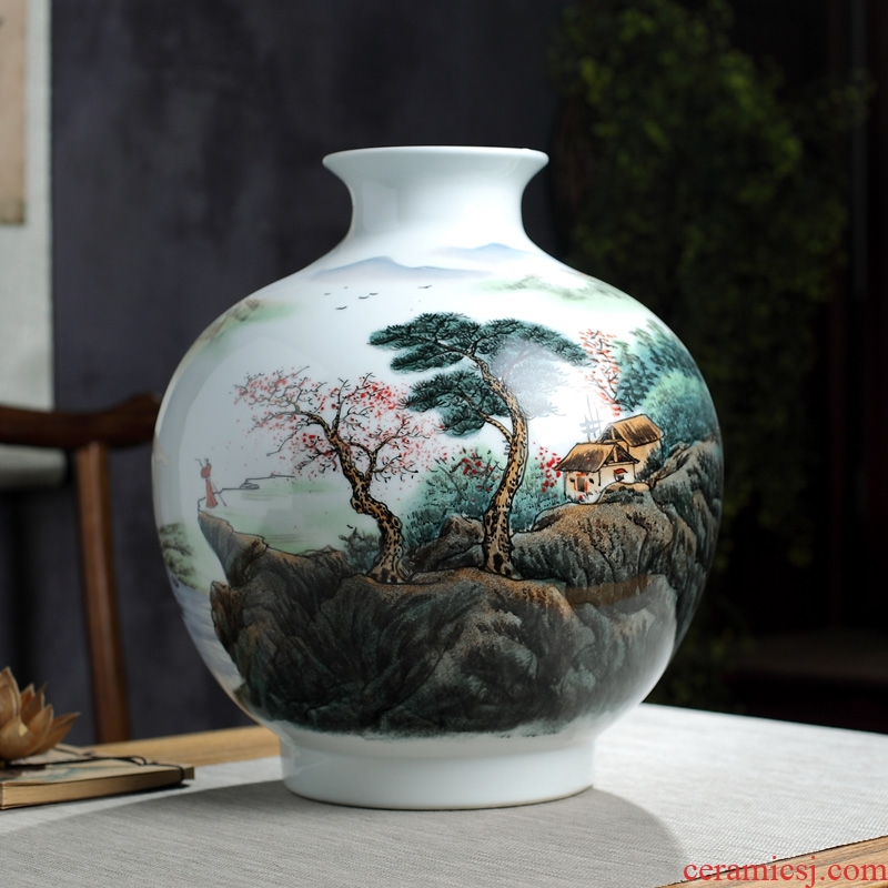 The Master of jingdezhen hand - made ceramics vase furnishing articles furnishing articles collection of home sitting room adornment handicraft ceramics