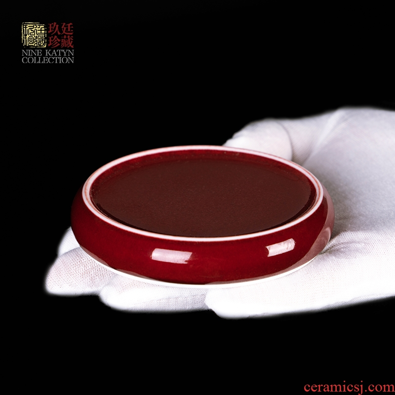 About Nine katyn lang up beauty ruby red glaze covered place jingdezhen ceramics kung fu tea set value on the lid cover frame accessories