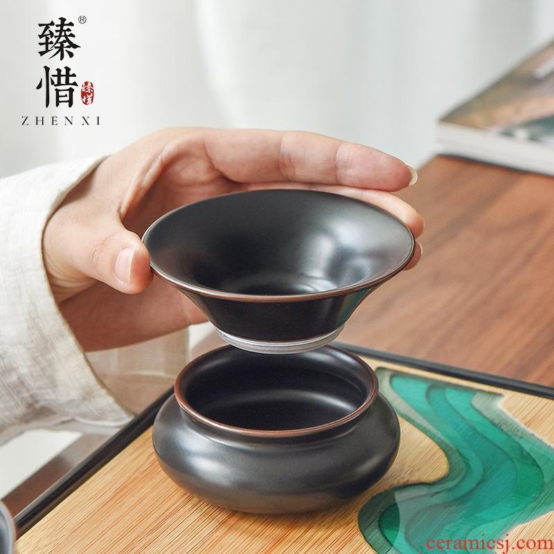 """""""Precious little ancient) ceramic filter tea filter kung fu tea tea strainer tea tea strainer"""