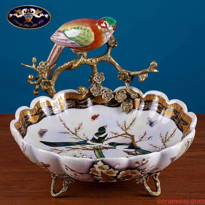 American household act the role ofing is tasted dry fruit tray was furnishing articles European ceramics receive dish between example sitting room tea table handicraft decoration