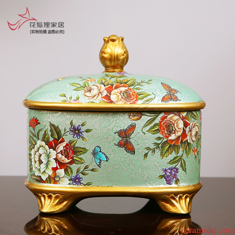 American ceramic storage tank creative wine Europe type restoring ancient ways to live in the sitting room porch place, household act the role ofing is tasted jewelry box