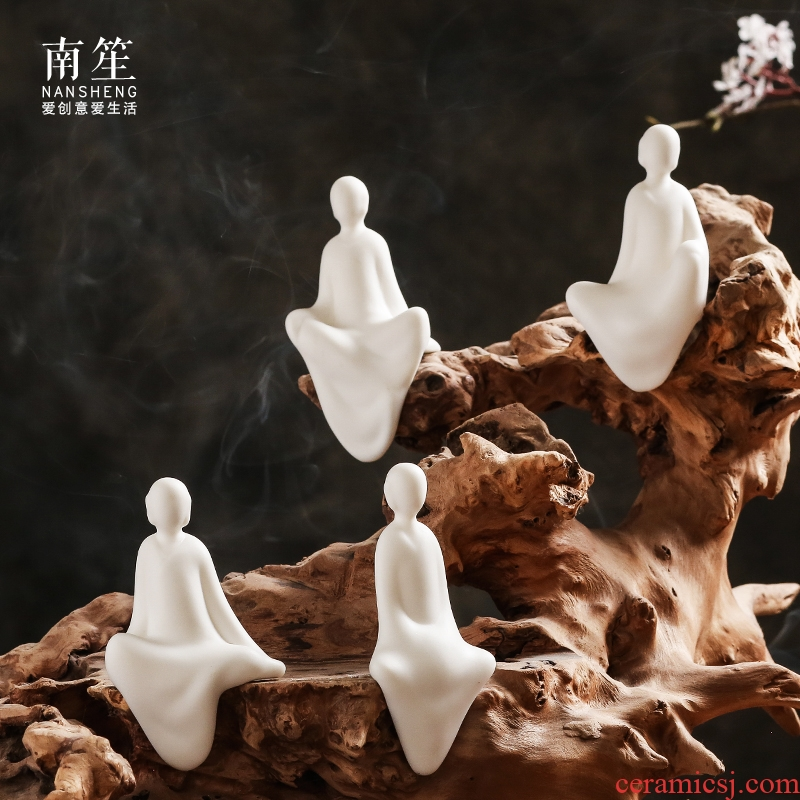 Nan sheng Chinese zen ceramic table sitting room ark, furnishing articles furnishing articles at home opening gifts decorations