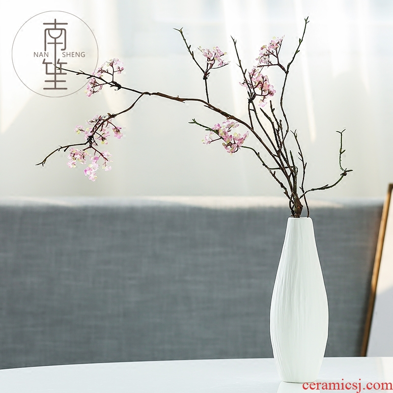 Nan sheng European I and contracted ceramic vase simulation flowers, dried flowers sitting room place small and pure and fresh flower arranging ornament