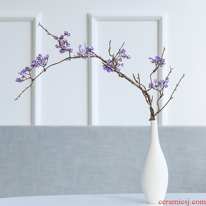 Nan sheng household act the role ofing is tasted ceramic vases, dried flower simulation TV ark, furnishing articles I and contracted sitting room adornment