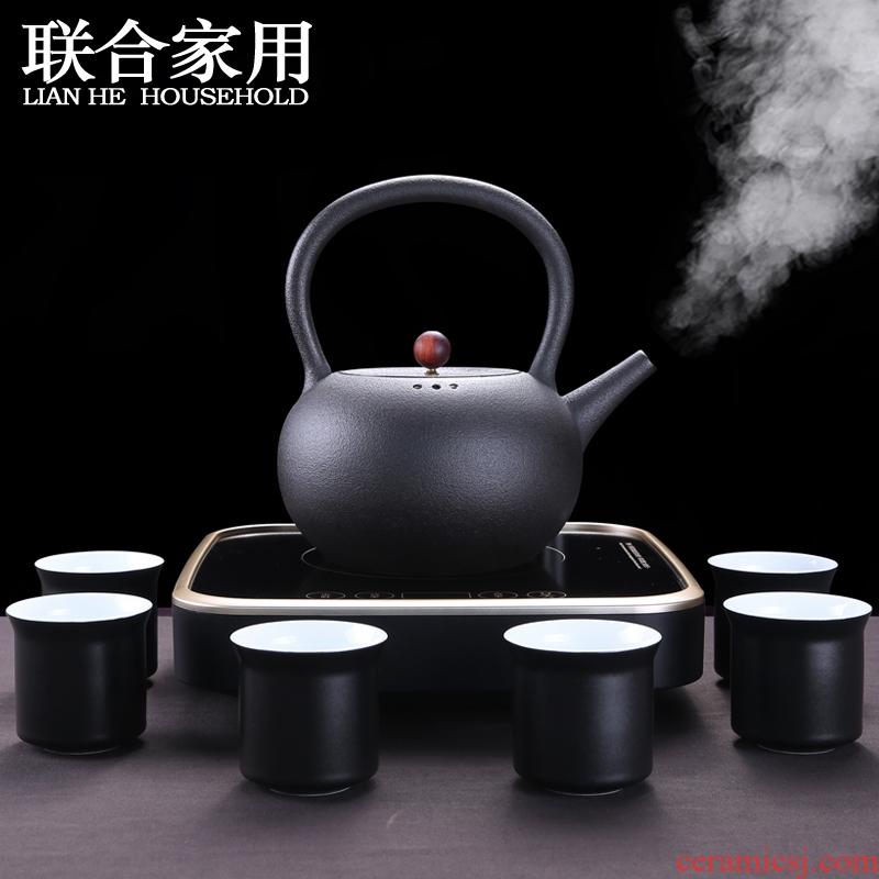 Combined with black tea boiling tea stove suit ceramic tea tea, automatic electric TaoLu electric heating cooking pot
