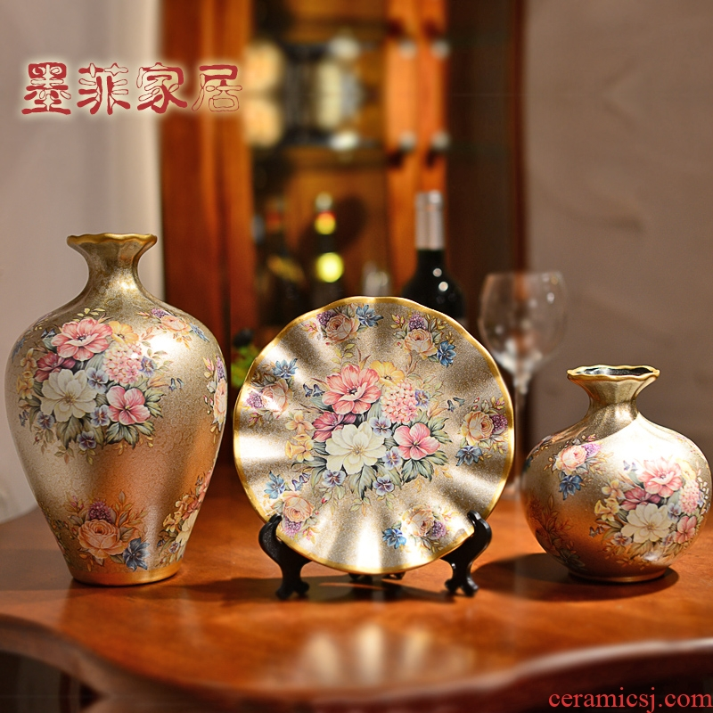 Wine accessories furnishing articles household act the role ofing is tasted Europe type restoring ancient ways the sitting room TV cabinet room porch decoration ceramic vase