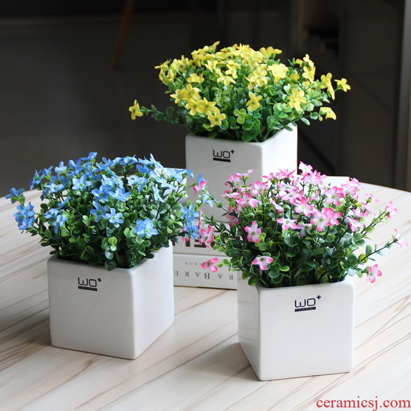 The Send + simulation flowers stars by with false ceramic basin suit bookshelf for wash one tea table and fresh flower pot