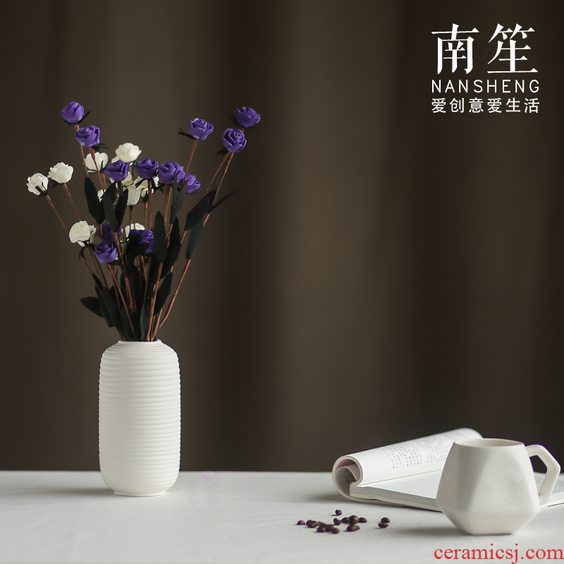 Nan sheng I and contracted household act the role ofing is tasted simulation flowers, dried flowers, artificial flowers, ceramic vases, home furnishing articles flower arranging flowers
