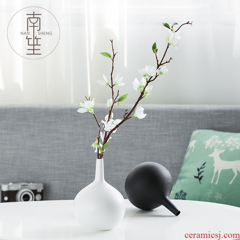 Nan sheng household act the role ofing is tasted simulation flowers, dried flowers, artificial flowers, ceramic vases, furnishing articles of TV bar face sitting room adornment