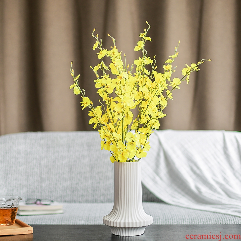 Nan sheng I and contracted household act the role ofing is tasted, ceramic vase false simulation flower, dried flower flower flower flower, furnishing articles