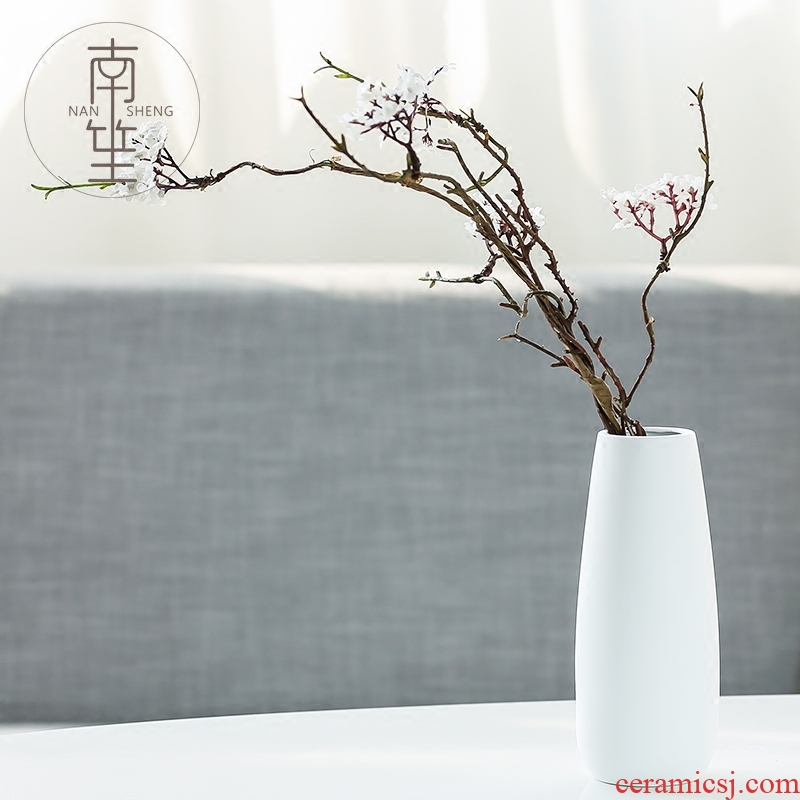 Nan sheng European I and contracted ceramic vase simulation flowers, dried flowers, fresh flower arrangement sitting room place small adornment