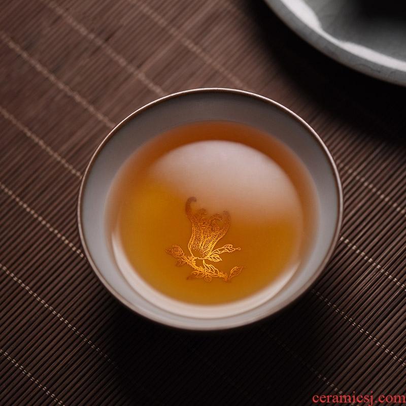 JingJun jingdezhen ceramic kung fu tea cups on your up kung fu tea master cup sample tea cup single CPU