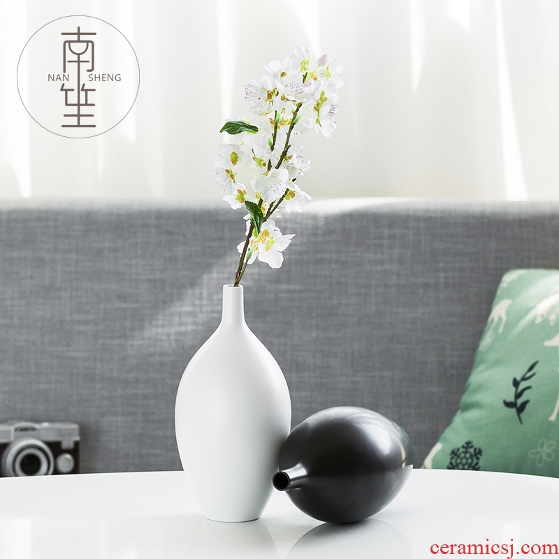 South sheng household act the role ofing is tasted ceramic vase simulation flowers, dried flowers, artificial flowers, mesa place TV ark, sitting room adornment