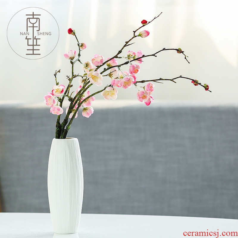 Nan sheng household act the role ofing is tasted simulation flowers, dried flowers, ceramic vases, I and contracted sitting room mesa place decorations