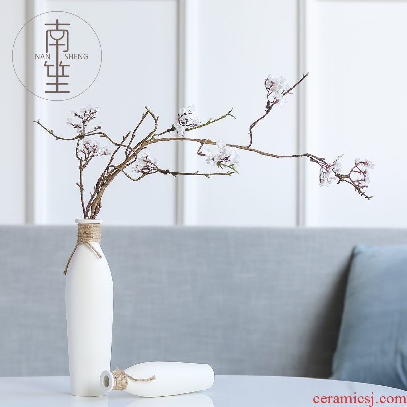 South simulation flowers, dried flowers, artificial flowers, sheng I and contracted household act the role ofing is tasted ceramic vases, flower arranging flowers, mesa furnishing articles