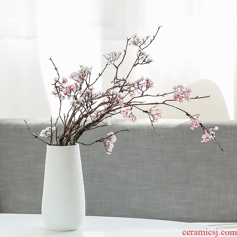 Nan sheng contracted ceramic vase simulation flowers, artificial flowers, household act the role ofing is tasted furnishing articles sitting room decorations arts and crafts