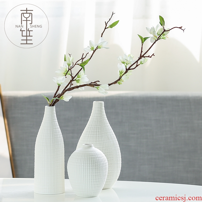 Nan sheng household act the role ofing is tasted the simulation sitting room ceramic vase set mesa place decoration simple ideas