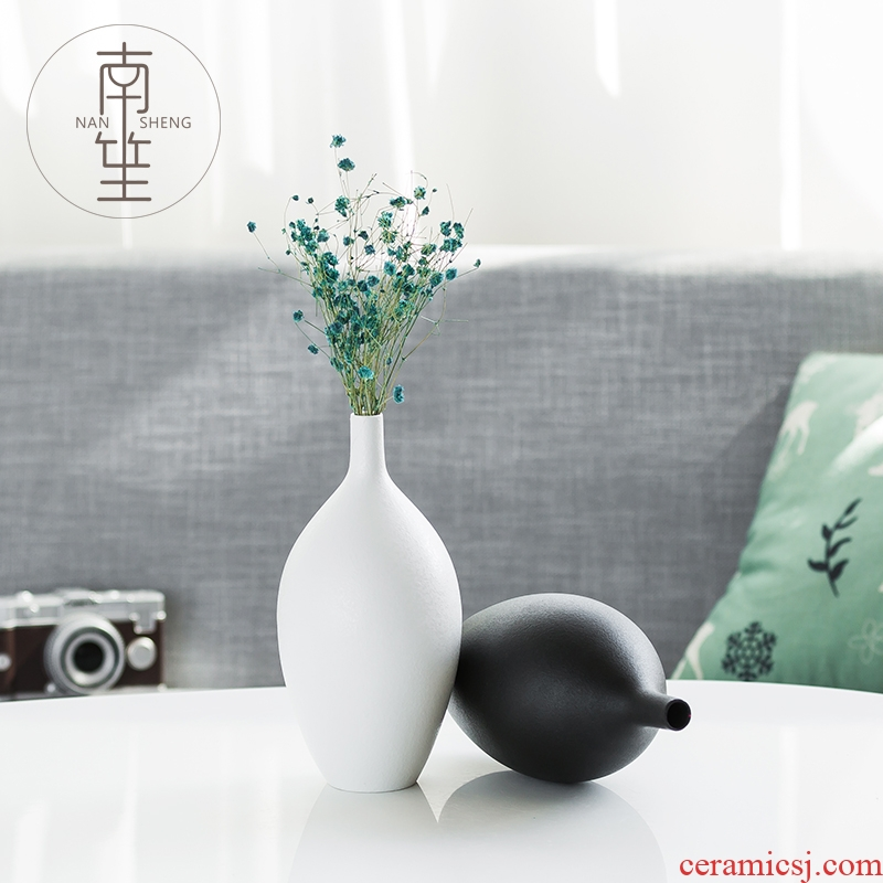 South sheng household act the role ofing is tasted simulation flowers, dried flowers, artificial flowers, ceramic vase, the sitting room TV ark, wine cabinet mesa furnishing articles
