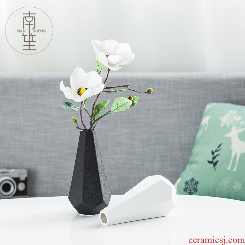 Nan sheng ceramic vase simulation flowers, dried flowers, I and contracted household act the role ofing is tasted sitting room adornment TV ark, furnishing articles