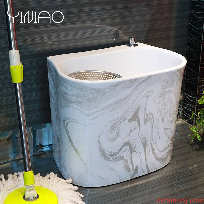 M letters birds driven ceramic mop pool home bathroom floor mop pool square mop pool large balcony