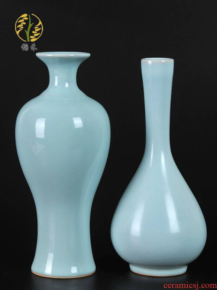 Your up ceramic arts and crafts flower vase home sitting room adornment furnishing articles contracted classic Chinese porcelain vases