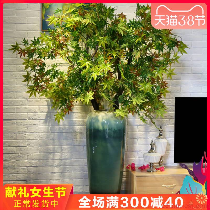 Jingdezhen ceramic creative up of large vase decoration to the hotel club stores garden furnishing articles between example