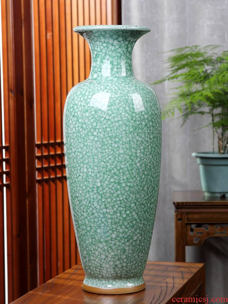 Jingdezhen archaize large jun porcelain vases, flower arranging is new Chinese style ceramic TV ark place to live in the living room accessories