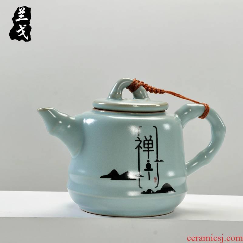 Having your up ceramic tea set little teapot on your porcelain kung fu tea tea teapot xi shi single pot