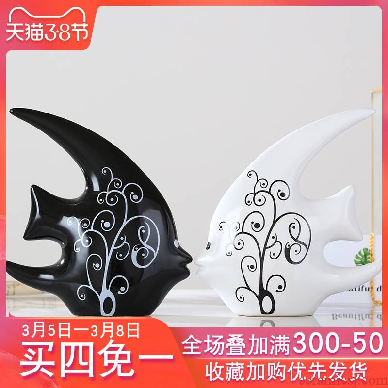 I In household adornment furnishing articles sitting room ark, ceramics handicraft decoration creative individuality bedroom room accessories