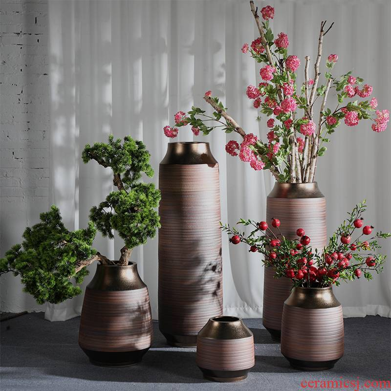 Zen flower arrangement is restoring ancient ways of large vase decoration to the hotel lounge ceramic furnishing articles sitting room porch floral suit