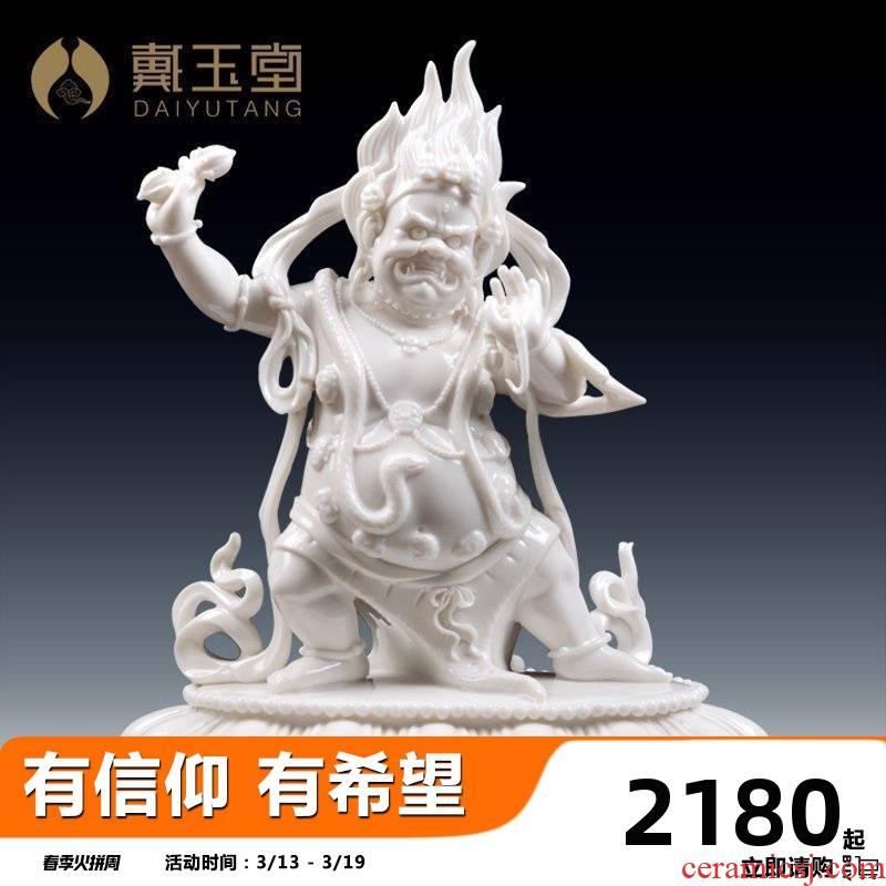 Yutang dai dehua porcelain its art collection furnishing articles/kong hands bodhisattva D46-26